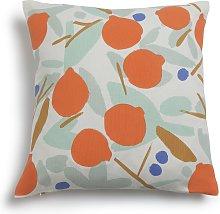 Habitat Pomegranate Patterned Cushion -