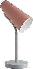 Habitat Rafi Desk Lamp - Pink & Grey