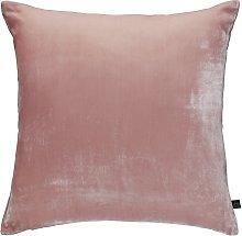 Habitat Regency Velvet Cushion - Dusty Pink