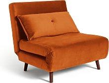 Habitat Roma Fabric Chairbed - Orange
