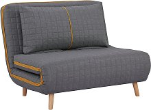 Habitat Roma Small Double Quilted Sofa Bed -