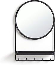 Habitat Round Shelf Mirror