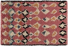 Habitat Savanna Wool Rug - 120 x 180cm - Pink