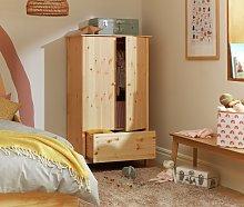 Habitat Scandinavia Kids 2 Door 1 Drawer Wardrobe