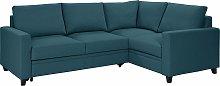 Habitat Seattle Right Corner Fabric Sofa Bed - Blue