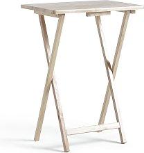 Habitat Single Folding Tray Table - Natural