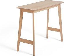 Habitat Skandi Light Oak 2 Seater Bar Table