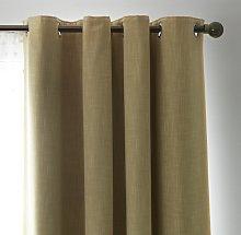 Habitat Skandi Linen Look Blackout Eyelet Curtain