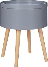 Habitat Skandi Storage Side Table - Grey