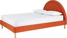 Habitat Sol Sunrise Kingsize Bed Frame - Orange
