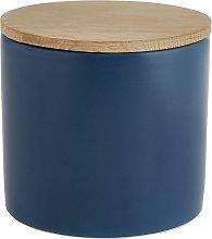 Habitat Sook Ceramic Storage Jar - Blue