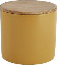 Habitat Sook Ceramic Storage Jar - Saffron