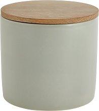 Habitat Sook Ceramic Storage Jar - Sage