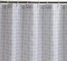 Habitat Spot Shower Curtain - Grey