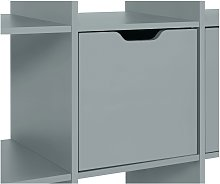 Habitat Squares Plus Door Fitting - Grey