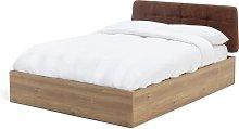 Habitat Tribeca Ottoman Double Bed Frame - Oak