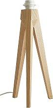 Habitat Tripod Table Lamp with Ash Wood Base
