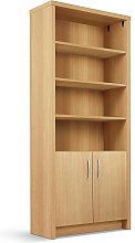 Habitat Venice 3 Shelf Display Cabinet - Oak Effect