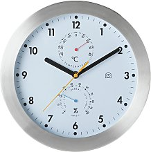 Habitat Weather Wall Clock - White