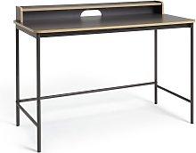 Habitat Wood Edged Desk - Two Tone