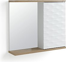Habitat Zander Mirrored Cabinet