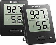 Habor Hygrometer Digital Indoor Thermometer,