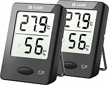 Habor Room Thermometer, Humidity Meter,