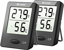 Habor Room Thermometer, [Mini Style] Humidity