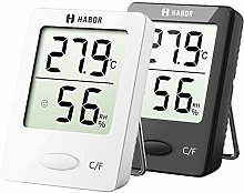 Habor Room Thermometer, Temperature Humidity