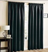 Hachette Thermal Blackout Curtains Pencil Pleat