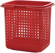 Hachiman - Cestino Laundry Storage Basket Large Red