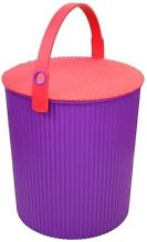Hachiman - Omnioutil Storage Bucket & Lid Large in
