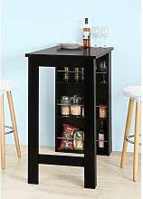 Hacker Bar Cabinet with Wine Storage Norden Home