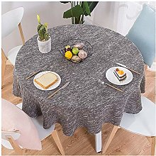 HACLJPP Round Tablecloth,Round Tablecloths For