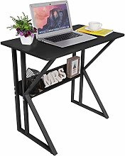Hadaiis Computer Desk 31.5-Inch Home Office Desk