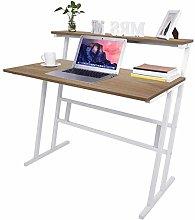 Hadaiis Computer Desk with Shelf, Home Office Desk