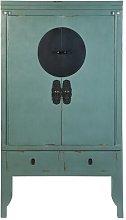 Hadassah 2 Door Wardrobe Williston Forge Colour: