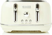 Haden 197252 Highclere 4 Slice Toaster - Cream