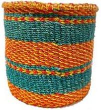 Hadithi - Basket Teal Orange Yellow