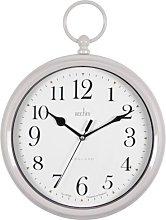 Hadlow Fob Grey Wall Clock Acctim