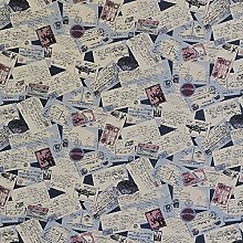 Hadson Craft Printed Cotton Old Post Cards Heavy