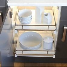 Häfele Pull-Out Basket / Tray Set for Kitchen