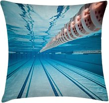 Haerulf Swimming Pool Sports View Outdoor Cushion
