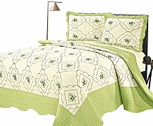 Hafaa Quilted Bed Coverlet Super King Size – 3