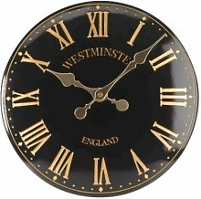 Haffner 38 cm Silent Wall Clock Sol 72 Outdoor