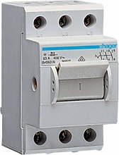 Hager SH363N Electric Switch 3P Grey – Electric