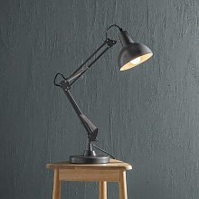 Hagins 48cm Desk Lamp Mercury Row