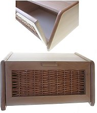 Hagspiel Bread Bin Made of Beech Wood with Natural
