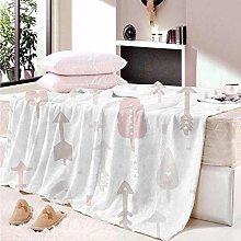 HAHAHAG Flannel Blanket arrow 3D Printing Blanket,