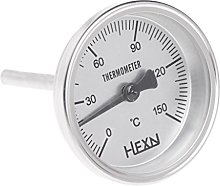 haia7k4k 1/4 PT Thread Stainless Steel Thermometer